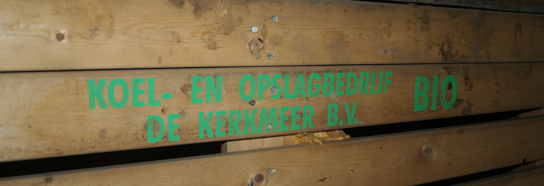 bio kuubskist van koel en opslagbedrijf De Kerkmeer bv