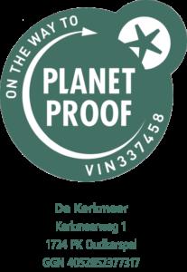 PlanetProof VIN 337458 voor De Kerkmeer in Oudkarspel